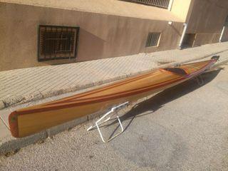 Piragua, kayak tradicional