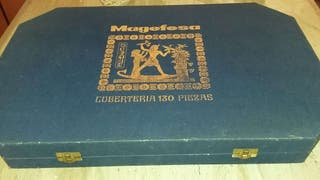Estuche de Cubertería MAGEFESA,de 130 piezas