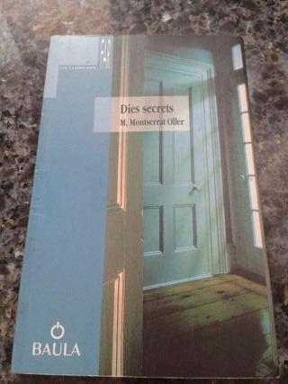 Libro, Dies secrets (M.Montserrat Oller)