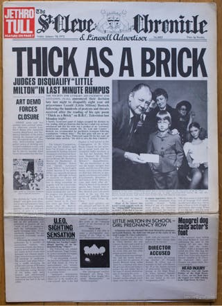 Thick as a Brick, Jethro Tull