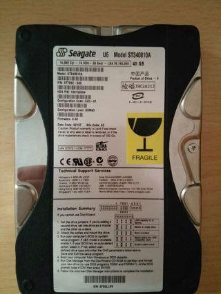 Disco duro interno 40 gb