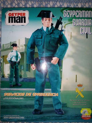 Caja original geyperman guardia civil