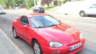Mazda mx3 6v. 136 CV. 0-100 km/h en 8.4 segs. V max 202 km/h. ITV pasada.