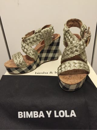 Bimba Y Lola Cuñas Talla 37