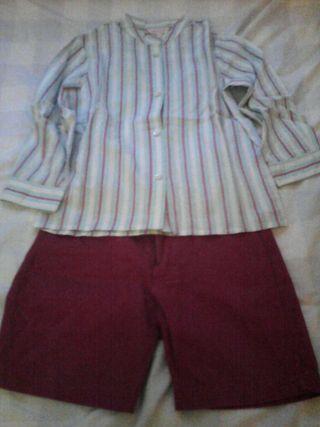 Camisa y pantalón Gocco 4 años