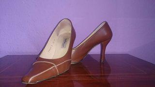Zapatos piel T 38