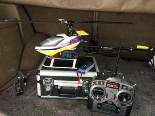 Helicoptero Align TREX 450 Pro+Spektrum DX6i + ...