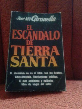 Libro El Escándalo de TierraSanta
