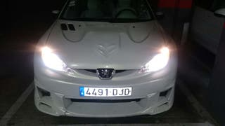 Peugeot 206 1.6 gasolina