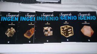 Colección juegos de ingenio