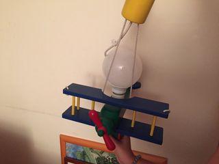 Lampara Infantil Avion