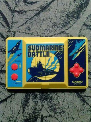 Maquinita Casio Submarine Battle.