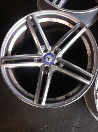 """Llantas 19"""" Mercedes"""