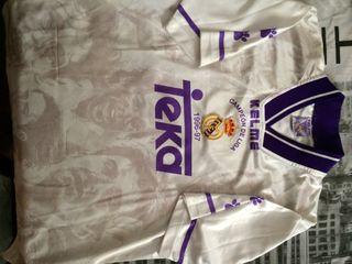 Camiseta Vintage Del Real Madrid