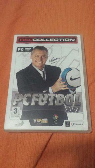 Juegos PC PcFutbol 2007