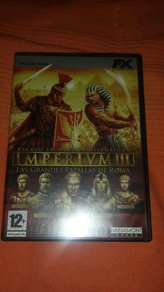 Juego PC Imperium III