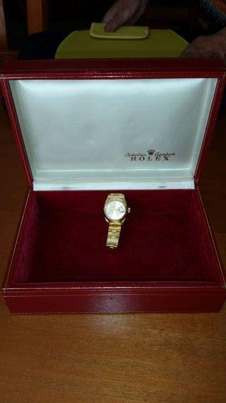 Rolex original de oro de Sra.