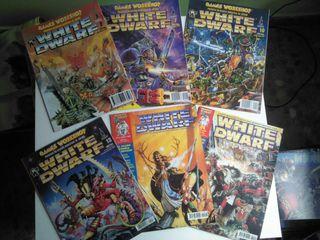 46 revistas White Dwarf (Warhammer)