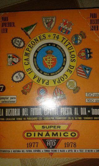 Calendario futbol 1977/1978