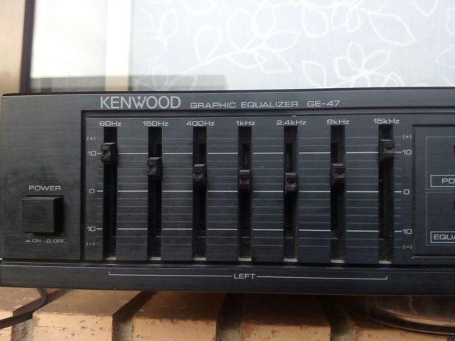 Ecualizador kenwood GE47