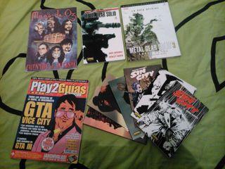 Guías y cómics