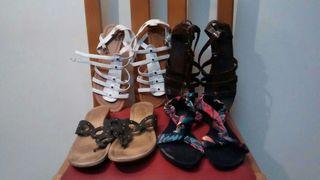 Pack de 4 pares de sandalias
