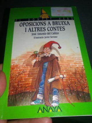 Libro Oposicions a bruixa i altres contes