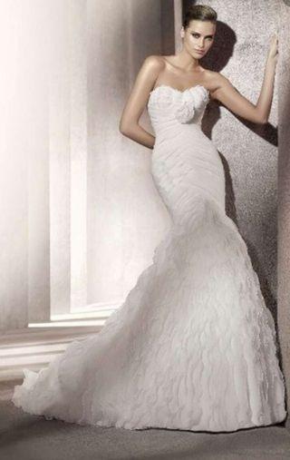 140685f532 Vestido de novia Pronovias de segunda mano en la provincia de ...