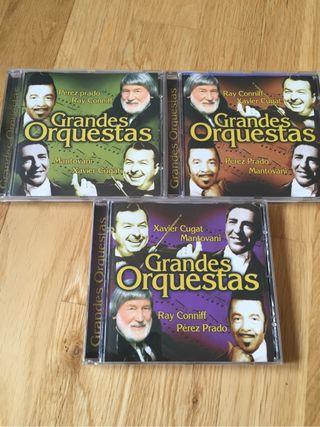 Colección 4 CD Música Grandes Orquestas