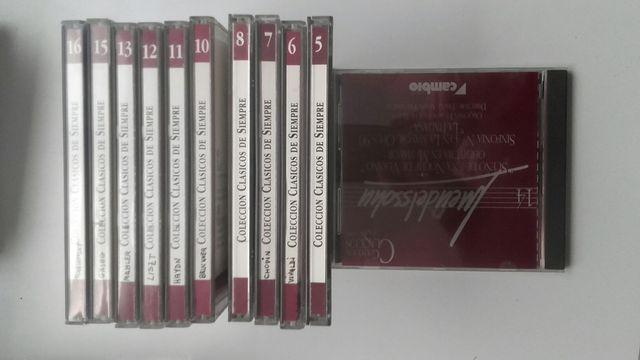 Lote 40 cd's de música clasica