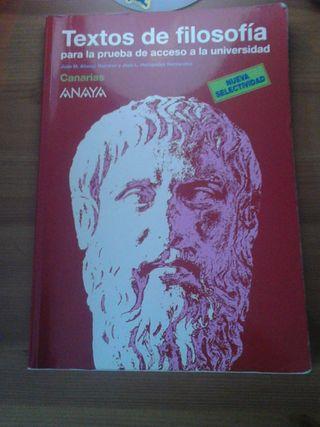 Textos PAU Filosofía.