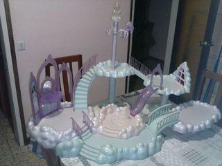 Castillo las nubes de la Barbie