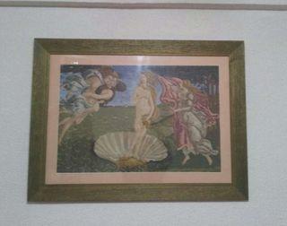 Cuadro punto de cruz(nacimiento Venus)