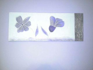 Cuadro sin marco pintado a mano