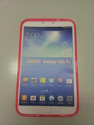 Funda de silicona Samsung Galaxy Tab 3