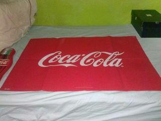 Poster gigante coca cola