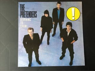 The Pretenders Learning To Crawl Vinilo