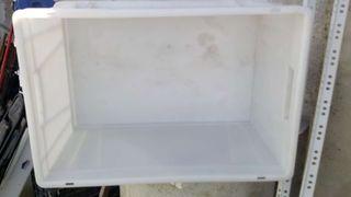 cajas plástico para huso alimentario