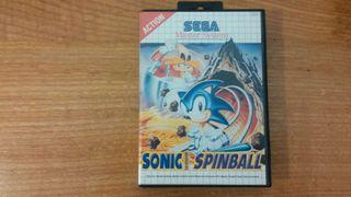 Sonic spinball MASTER SYSTEM