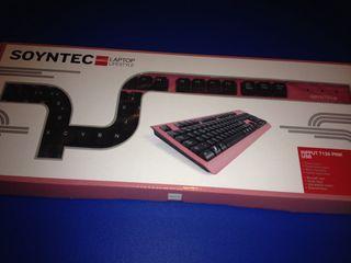 Teclado Rosa USB