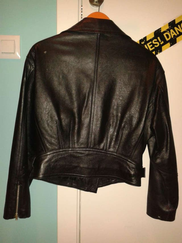 Chupa cuero / chaqueta piel heavy, motorista