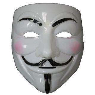 3 Caretas Anonymous - Máscaras V de Vendetta - Nuevas - Halloween - Carnaval