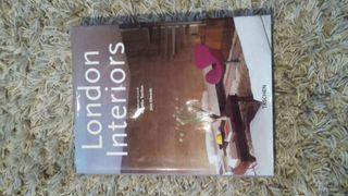 """Libro decoración """"London Interiors"""" rebajado"""