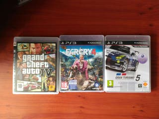 Far cry, GTA y GTV