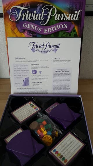 Trivial Pursuit en Inglés sin Estrenar