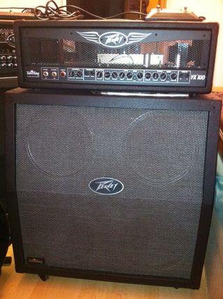 Amplificador Peavey Valveking 100 Bundle