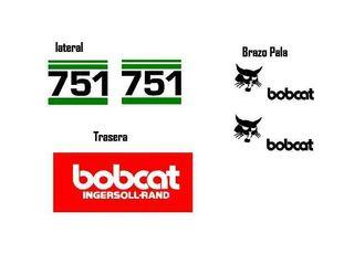 Pegatinas Bobcat 751