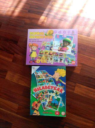 Puzzles infantiles en Euskera