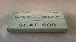 Conjunto seguros motor seat 600