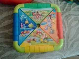 Juegos infantiles con sonido